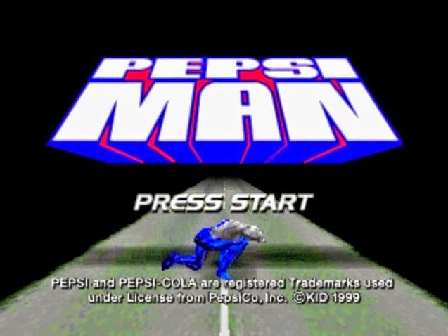Pepsi Man Game