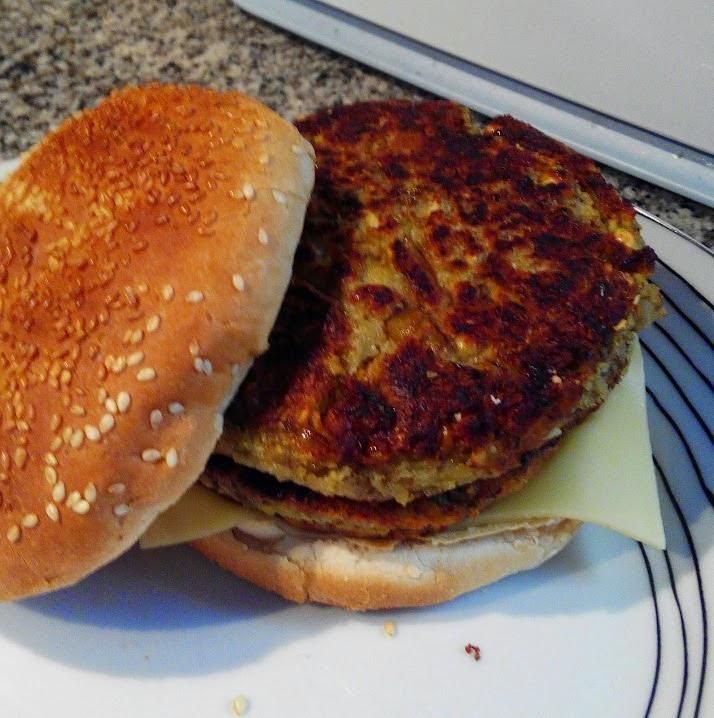 El blog de asturel hamburguesas de lentejas - Hacer hamburguesas vegetarianas ...