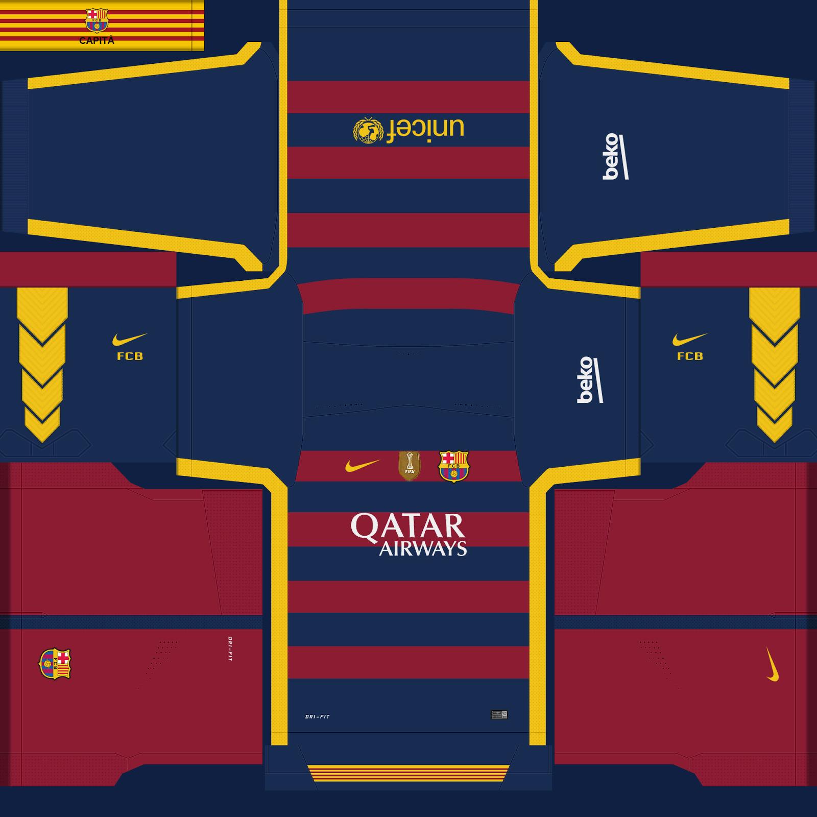 pes 2016 barcelona wc kits 2015 patch pes new patch