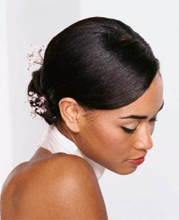 Celebrity Hairstyle African American Wedding Hairstyles