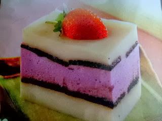 Resep Kue Lapis Puding Buah Enak