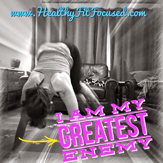 Insanity Max:30 Women's Progress Update - Week 5 & 6, I am my greatest enemy, www.HealthyFitFocused.com