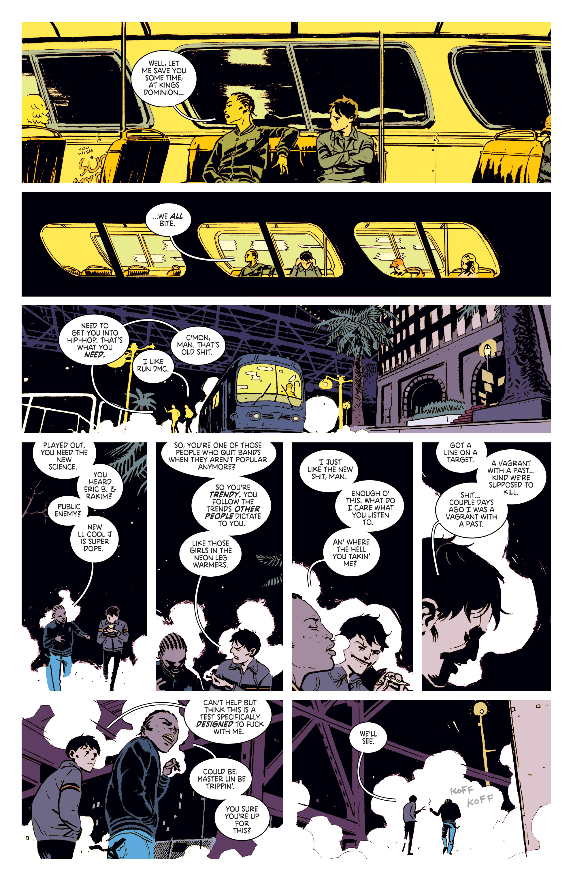Read online Deadly Class comic -  Issue #3 - 11