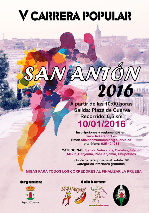 V Carrer Popular de San Antón, en Cuerva