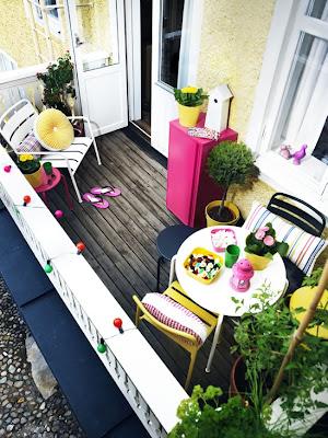 pequeño balcon