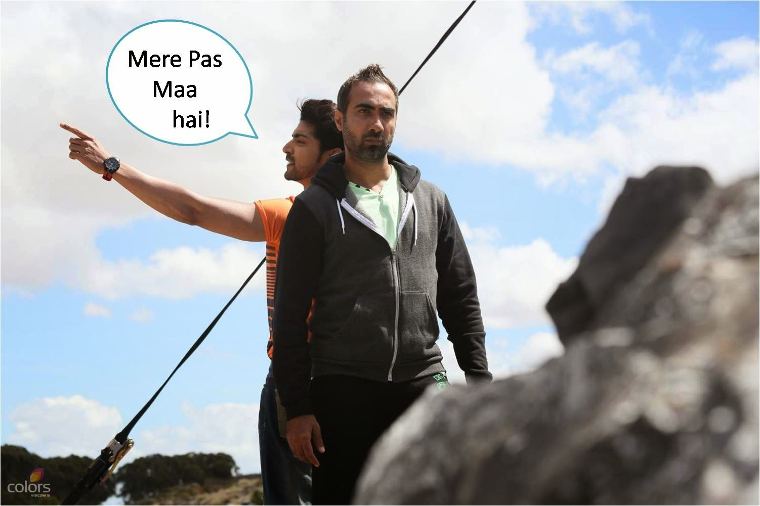 Mere paas Maa hai dialogue by Gurmeet in Fear Factor Khatron Ke Khiladi