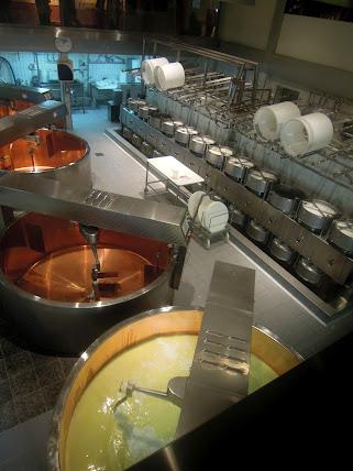 stirring curd