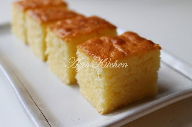 Moist Butter Cake Kegemaran Azie Azie Kitchen