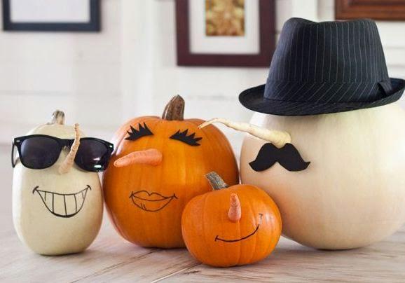Calabaza para halloween manualidades cositasconmesh - Calabazas para halloween manualidades ...