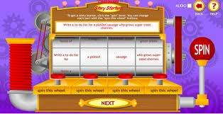 creative writing story generator Normally i dislike writing prompts for kids because i don't like prompts myself however, i do think many kids want and even need ideas and inspiration for writing so, i've found some fantastic online story and character idea generators that i think will motivate your kids to write these are writing prompts.