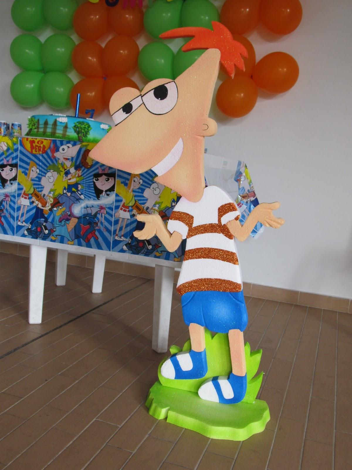 PHINEAS AND FERB DECORACION FIESTA CUMPLEAÑOS | Fiestas infantiles ...