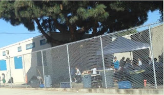ICEF Vista Elementary Charter School Academy puts students at risk by using unsecured canopy on campus in violation of safety rules
