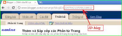 Xác định ID blogspot - Chèn comment phân cấp vào Blogspot của bạn vers 1 - by: http://namkna.blogspot.com/