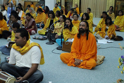 Divali retreat with Swami Mukundananda, senior disciple of Jagadguru Kripaluji Maharaj