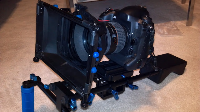 DSLR cinema rig: mattebox