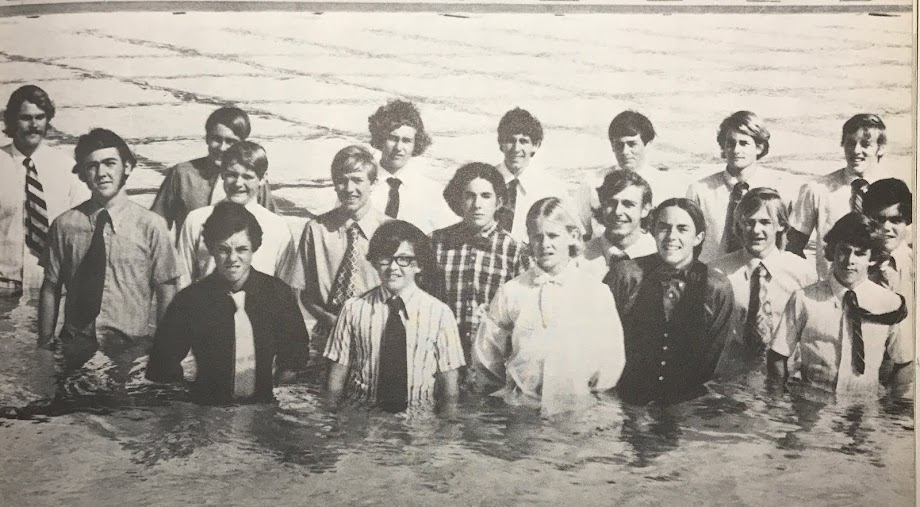 '72 swim team. '