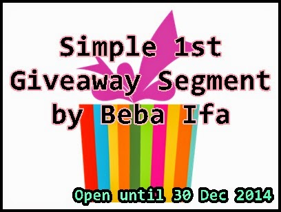 http://kylifa.blogspot.com/2014/11/simple-1st-giveaway-segment-by-beba-ifa.html