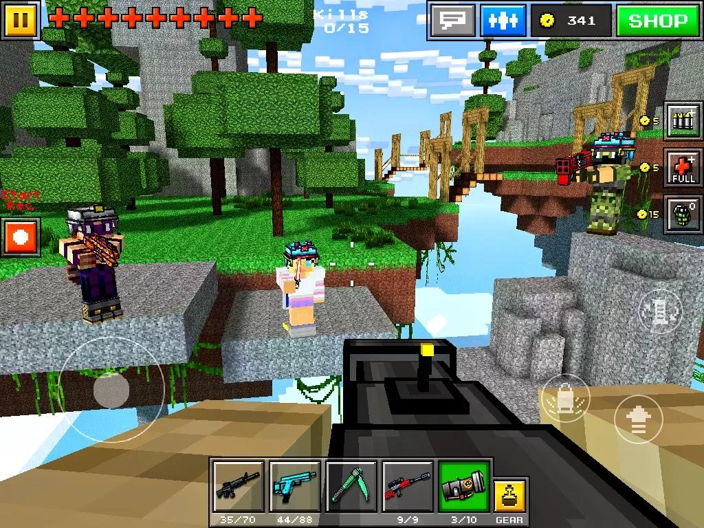 pixel gun 3d hack apk + obb