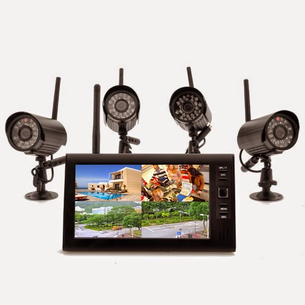 Kamera Wireless 4x Indoor DVR 7 Inch