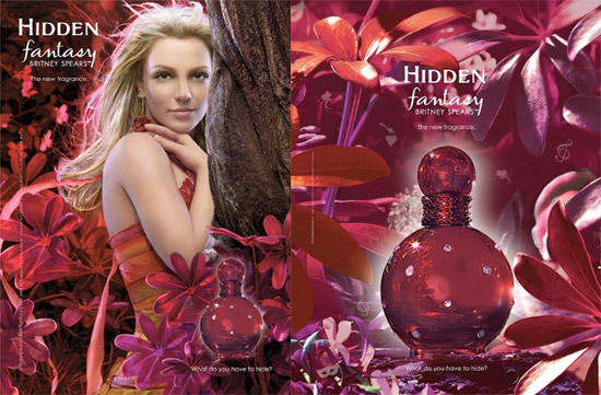 Britney Spears Hidden Fantasy fragrance