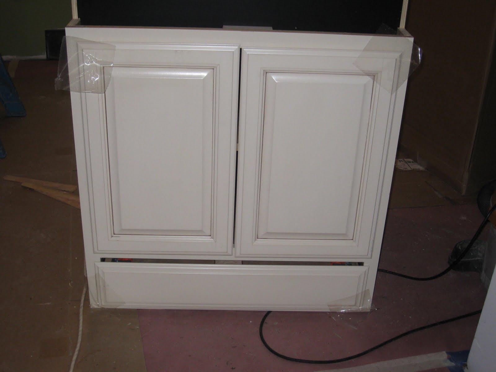 Biscotti with Cocoa Glaze Cabinets