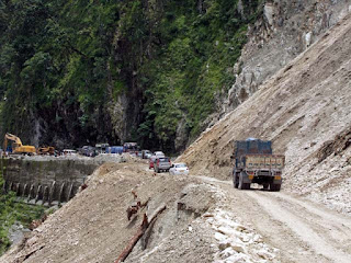 NH 10 landslide at swetikhola
