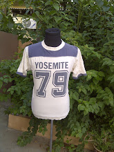 VINTAGE 79 YOSEMITE 50/50 KAIN SAMBUNG T SHIRT