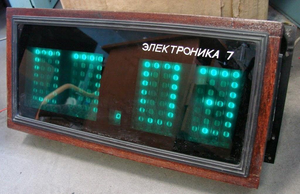 часы электроника 7 настенные инструкция - фото 10