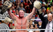 #1 - Brock Lesnar