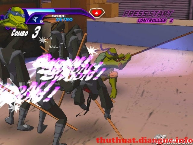 Download game Ninja Rùa 2003