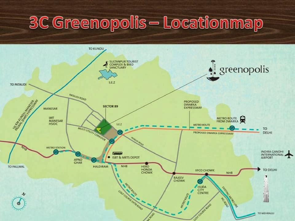3C Greenopolis Location Map
