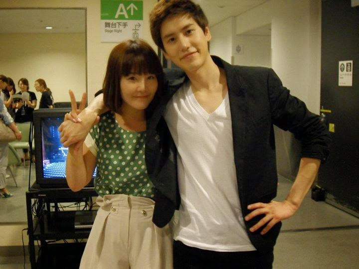 kyuhyun reveals people mistake his sister as his girlfriend justkpop