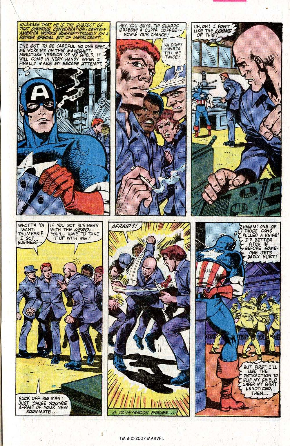 Captain America (1968) Issue #260 #175 - English 21