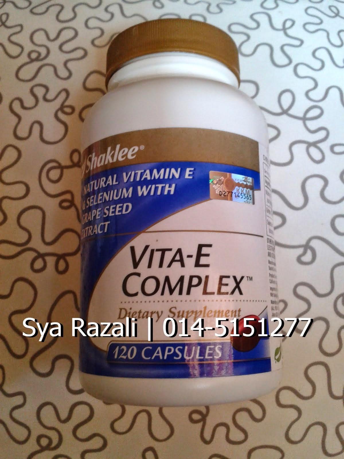 Must Buy! Vita-E Complex