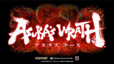 asura's wrath logo schermata iniziale