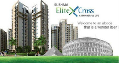 real masterz, real estate, sushma elite cross, luxury apartment, flats in zirakpur, property