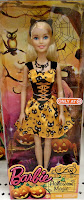 halloween witch kitten barbie orange dress spooky cat corset lacing Target