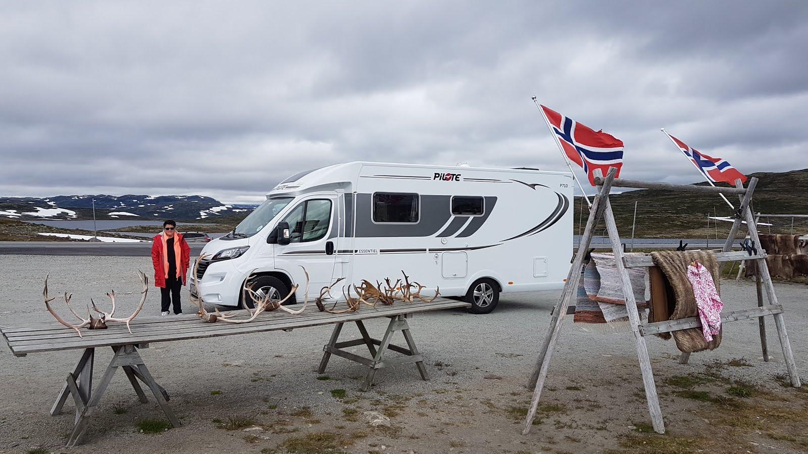 Hardangervidda Norge 2017