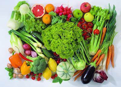 Verdes y saludables vegetales