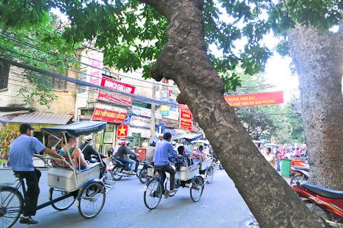 Cyclo Tour in Hanoi, Vietnam