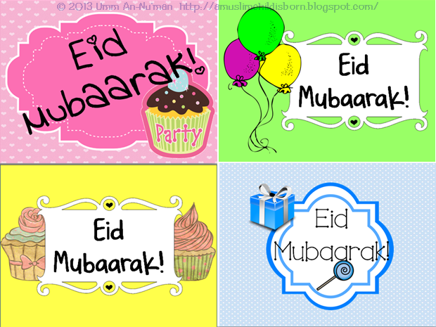 picture about Eid Cards Printable identified as Free of charge Eid Card Printables! Ireland Islam
