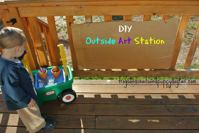 Easy Outside Art Station