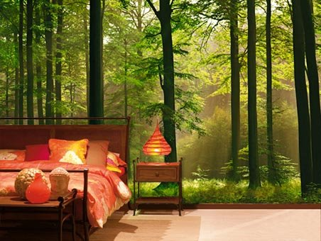 top enchanted forest themed bedroom wallpapers