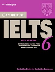 Download Cambridge IELTS 6 With PDF And Audio