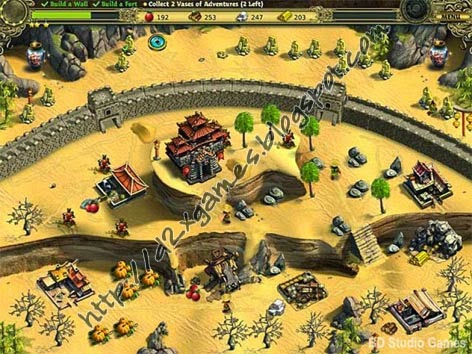 Free Download Games - Building The Great Wall Of China