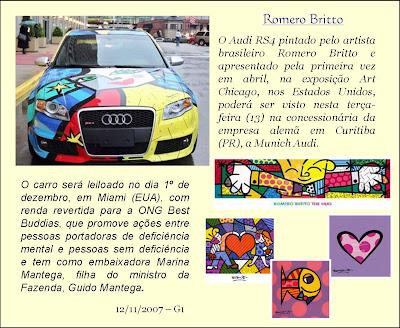 Romero Britto Artista Pl 225 Stico Brasileiro Revista Biografia