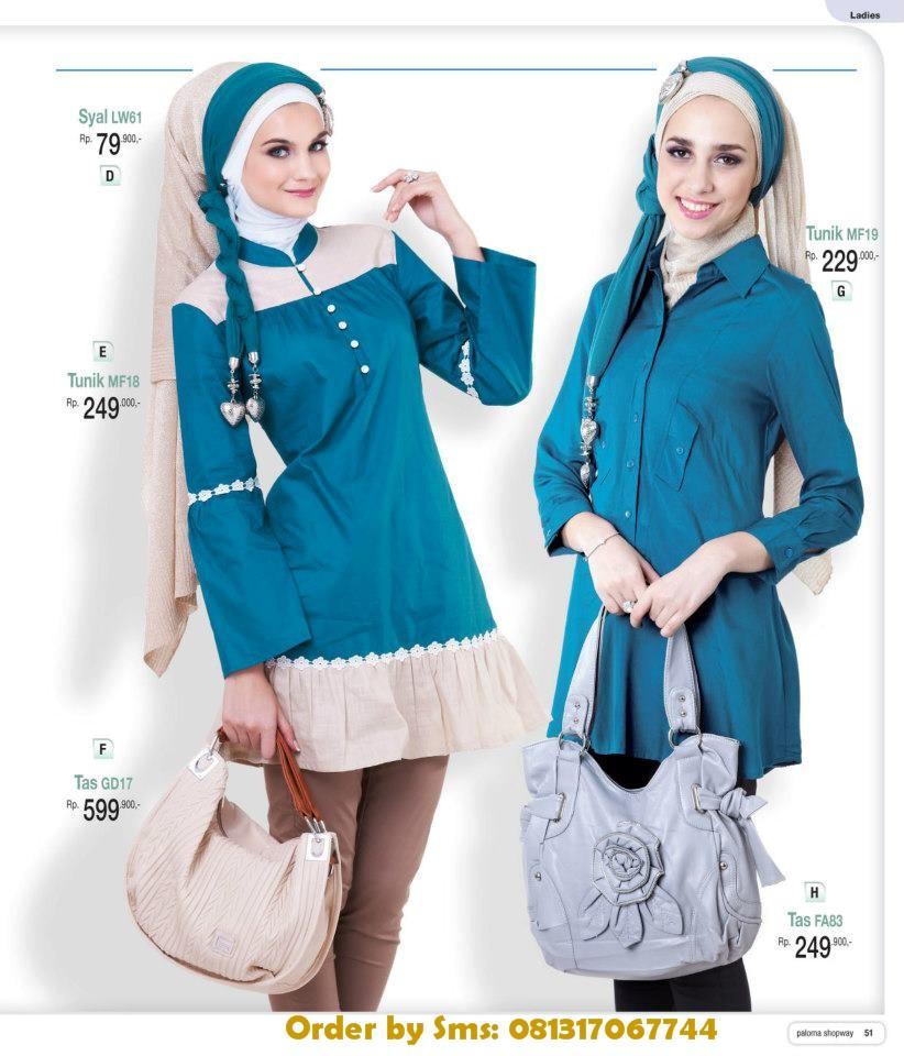 Baju Kerja Wanita Muslim