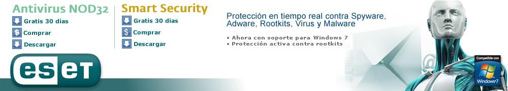 Antivirus NOD32 Serial - Llaves - Claves - Usuario - Contraseña Gratis