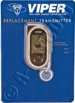 Viper 7752V Replacement Transmitter Supercode Remote