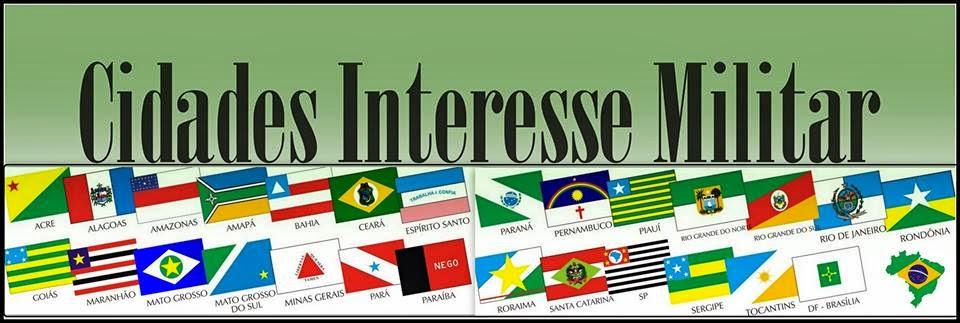 Cidades Interesse Militar